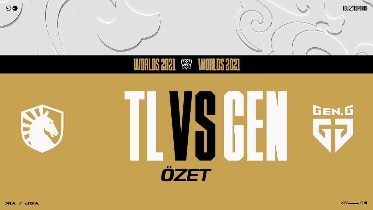 Download Team Liquid (TL) vs Gen.G (GEN) Maç Özeti | Worlds 2021 Grup Aşaması 7. Gün