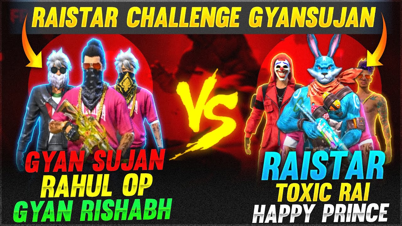 Ab Bol Na Raistar Back To Back Down 🤣🤣 | 3 Vs 3 Clash Squad | Garena Free Fire