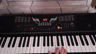 gözleri aşka gülen çalınışı ve notaları (melodika,org,piano,flüt) Video