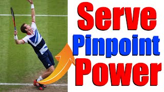 Tennis Serve Lesson - Pinpoint Stance & Leg Drive Power | The Lab #3