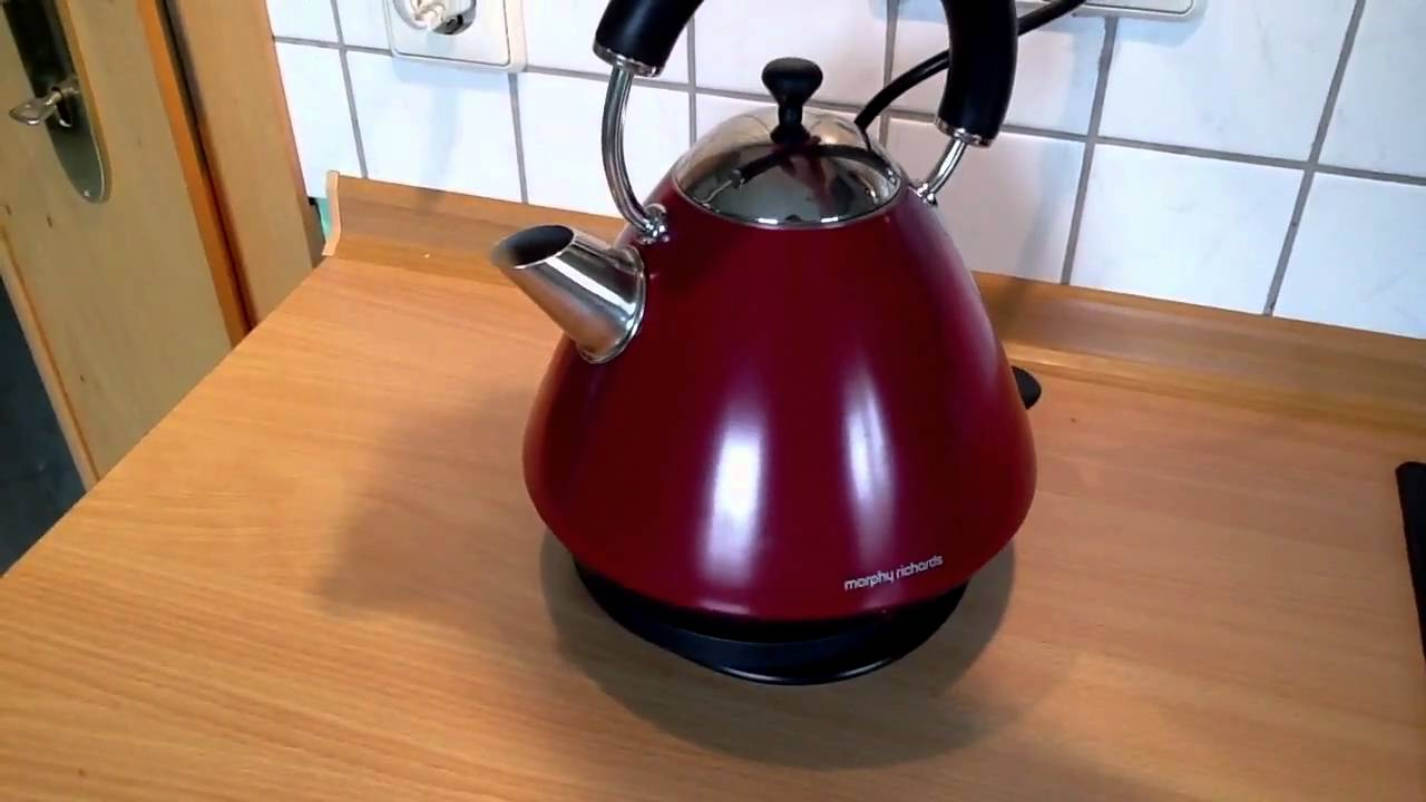 morphy richards retro water boiler wasserkocher youtube. Black Bedroom Furniture Sets. Home Design Ideas