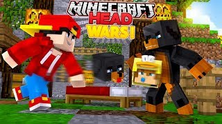 Minecraft Adventure - HEAD WARS - WELL THIS IS CRAZY....!!!!