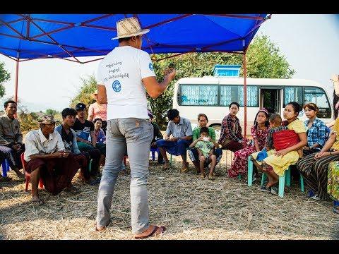 Notre programme de Réduction des Risques en Birmanie