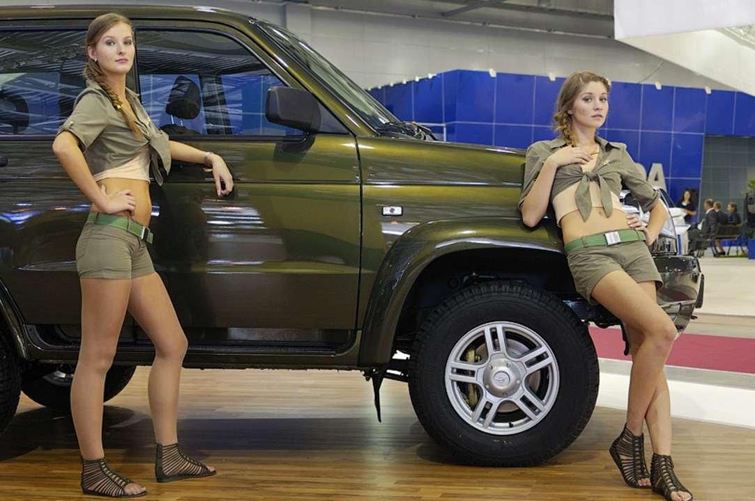 Girls Uaz Russian Cars Youtube