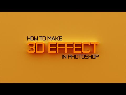 Видеоурок: Как сделать 3D текст, логотип | Photoshop Tutorial: How To Make 3D Text, Logo