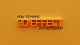 Видеоурок: Как сделать 3D текст, логотип | Photoshop Tutorial: How to make 3D text, logo