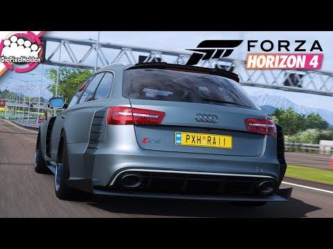 FORZA HORIZON 4 #7 - Wir penetrieren die Autobahn - Let's Play Forza Horizon 4