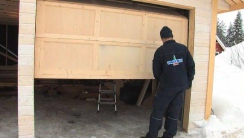 montere garasjeport