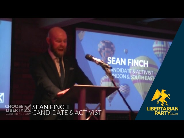 Sean Finch - Libertarian Party Conference 2019