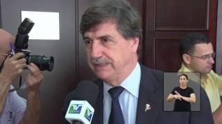 JA Visita Senador Italiano - LIBRAS