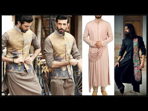 Trendy Kurta Pajama For Men || 2019-2020 || Kurta Pajama Designs || Indo western kurta for men- FSHC