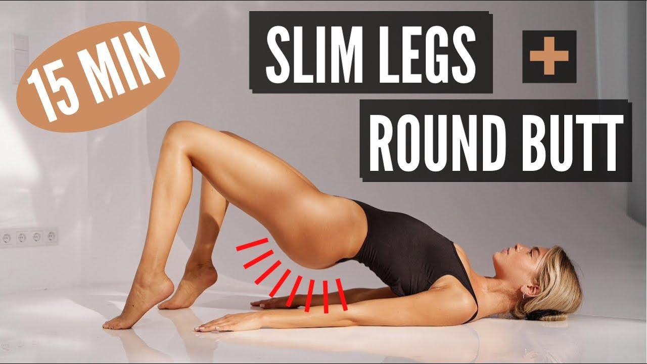 Download 15 MIN. SLIM LEGS & ROUND BUTT WORKOUT - lose thigh fat | Mary Braun