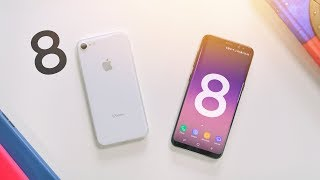 Apple iPhone 8 vs Samsung Galaxy S8!