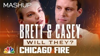 Brett and Casey: Will They? Won't They? - Chicago Fire (Mashup)