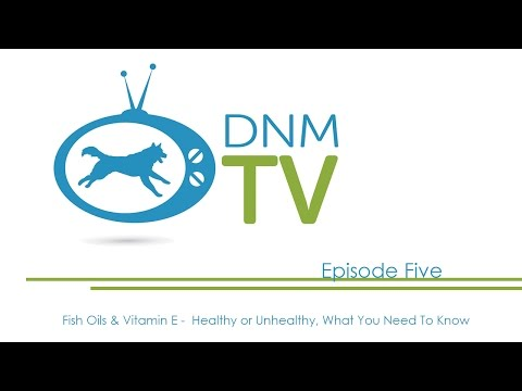 Dogs Naturally Magazine TV - Fish Oils & Vitamin E -  Healthy Or Unhealthy, What You Need To Know