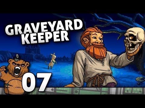 Olá, Pedreira | Graveyard Keeper #07 - Gameplay Português PT-BR