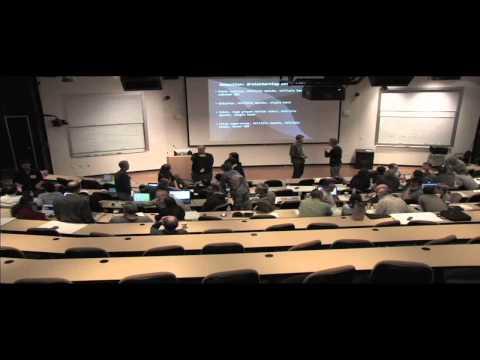 "LSST DE SChool, February 2015: Jim Bosch - ""Image Processing Algorithms"""