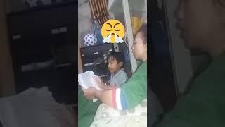 Abang belajar membaca