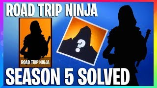 *NEW* Fortnite: ROAD TRIP NINJA SKIN LEAKED FILES Season 5 Story SOLVED Fortnite Battle Royale leaks