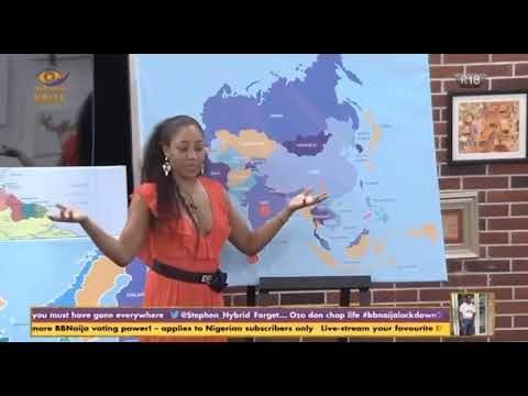 Download Erica talks on countries she has visited. Day 4  (PART 2) big brother Nigeria 🇳🇬.