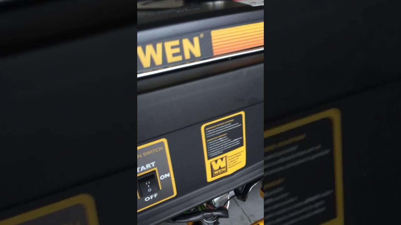 Wen 4750 Generator
