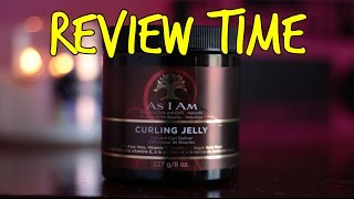 review as i am curling jelly coil and curl definer   natural curly hair