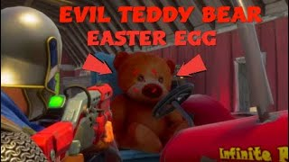 5 HIDDEN SECRET EVIL TEDDY BEAR EASTER EGG | Fortnite Battle Royale