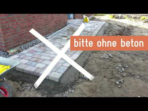 randsteine setzen ohne beton