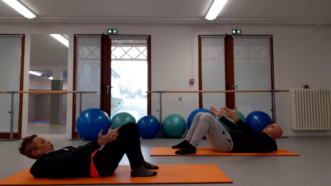Un duo très sportif : le Pilates