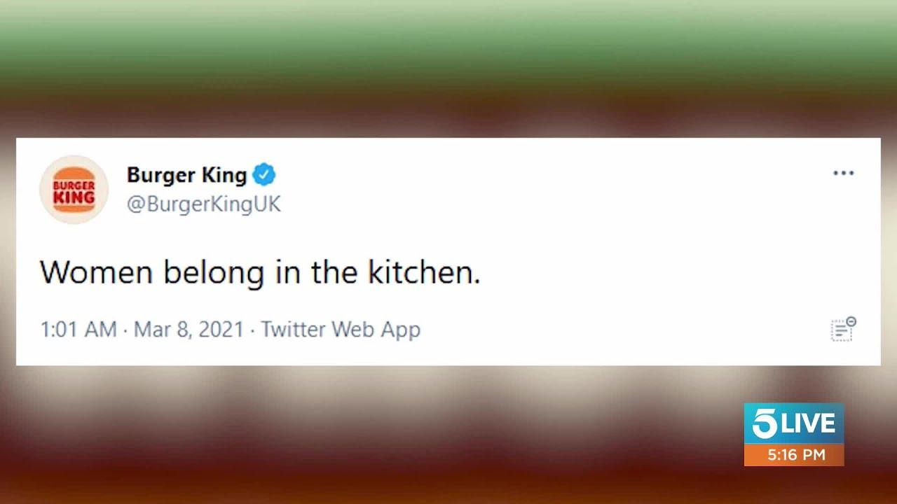 'Women Belong In The Kitchen': Burger King's International ...