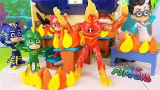 Arriva BEN 10 nella scuola dei PJ Masks Super Pigiamini 🔥 [La Scuola dei PJ Masks - Ep. 6]
