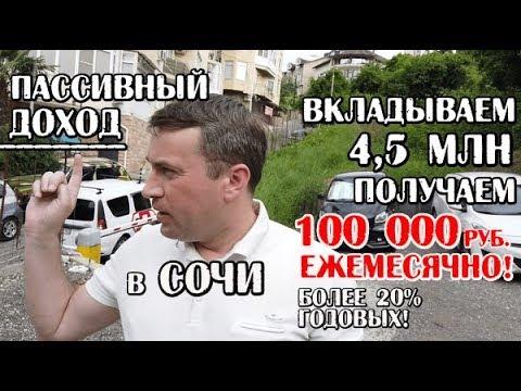 🔴🔴Пассивных доход с участка в Сочи: 100 000 руб/мес!!!