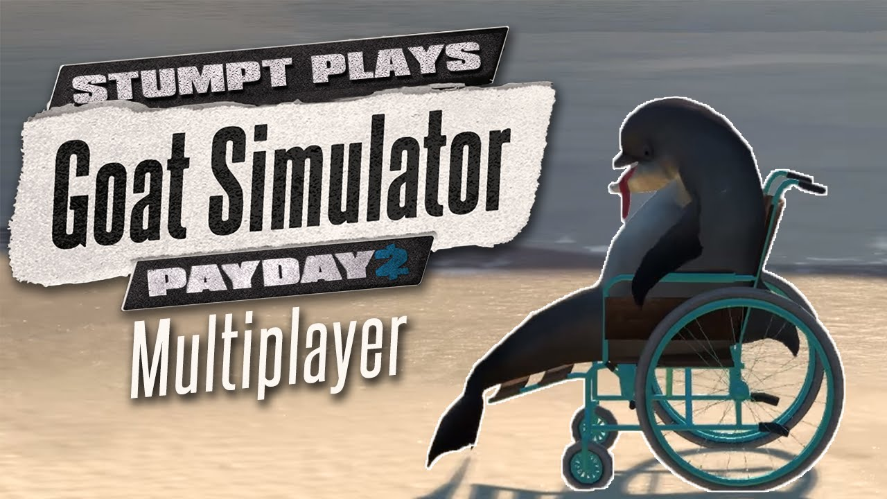 Goat Simulator Payday - Cat Helicopter (Multiplayer ...
