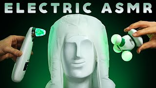 ASMR Electric Triggers from Ear to Ear (No Talking) Hum. Whir. BuZzZz...