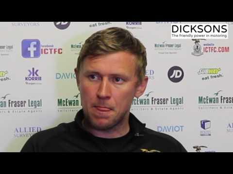 CaleyJagsTV : Richie Foran Match Preview v Dundee : 15/05/17