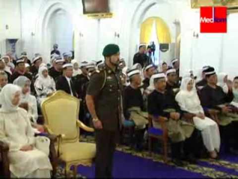Sekitar Istiadat Pemasyhuran Tunku Ismail Idris Ibni Sultan Ibrahim sebagai Tunku Mahkota Johor