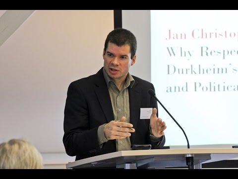JAN CHRISTOPH SUNTRUP: Why Respect the Law? Durkheim's Theory of Democracy and Political Legitimacy