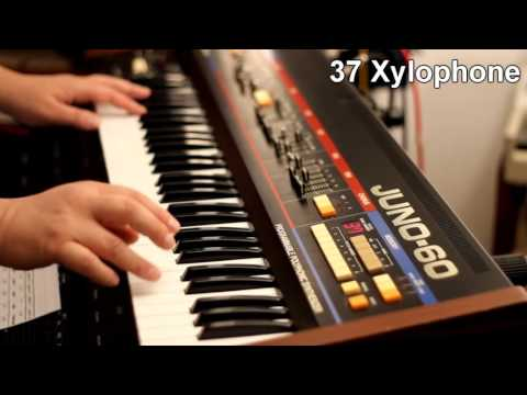 Roland Juno-60 - the 56 classic factory patches