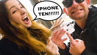 MISPRONOUNCING IPHONE X  *iPhone Ten!!!!!!*