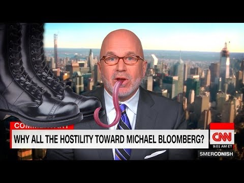 CNN's Michael Smerconish Thoroughly Licks Mike Bloomberg's Boot Until It's Spotless