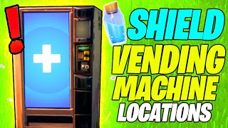 Purchase a SHIELD Item from a VENDING MACHINE Location (Fortnite Season 8)