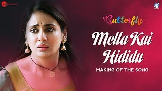 Mella Kai Hididu Making | Butterfly | Parul Yadav | Ramesh Aravind | Amit Trivedi