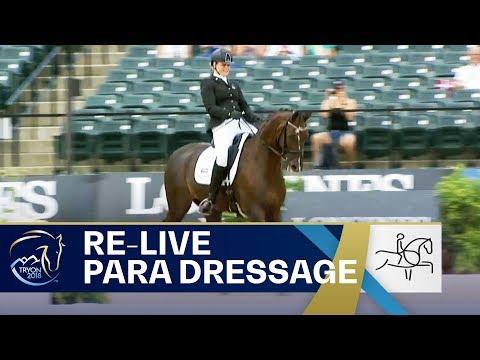 RE-LIVE Para-Dressage – Grade III Individual   FEI World Equestrian Games 2018