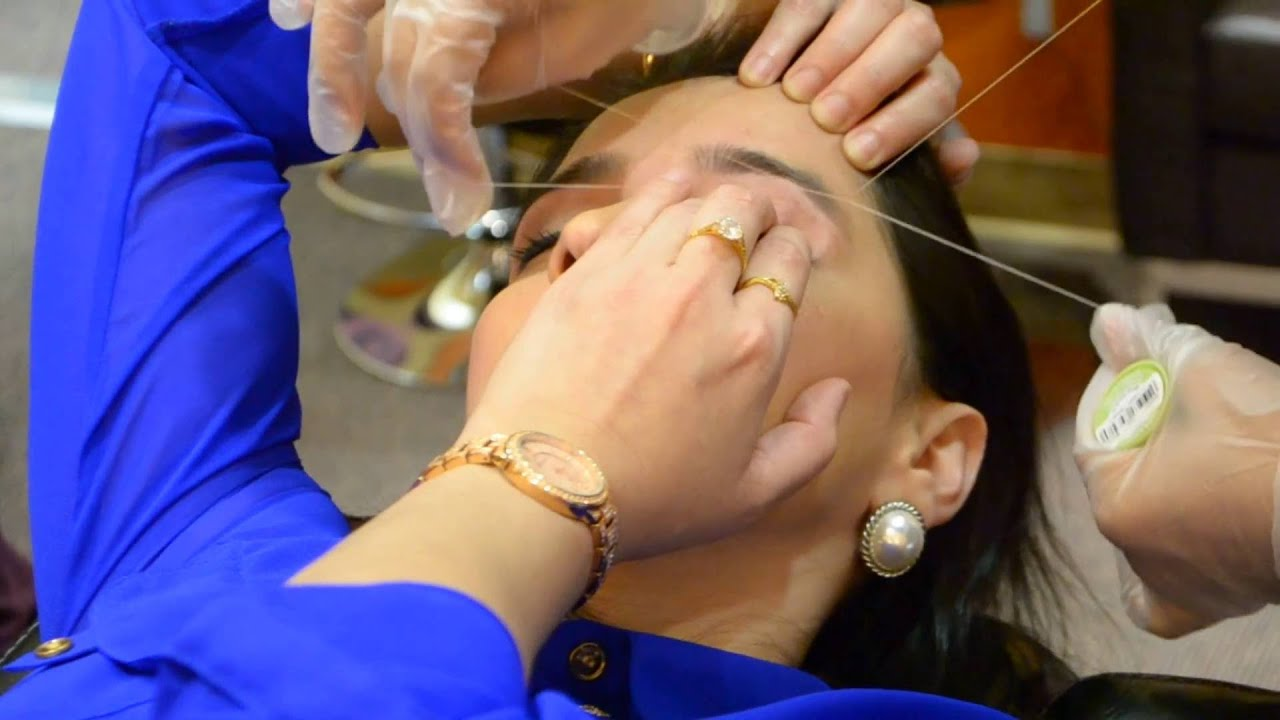 Gbs Brows Threading 2016 1 Youtube