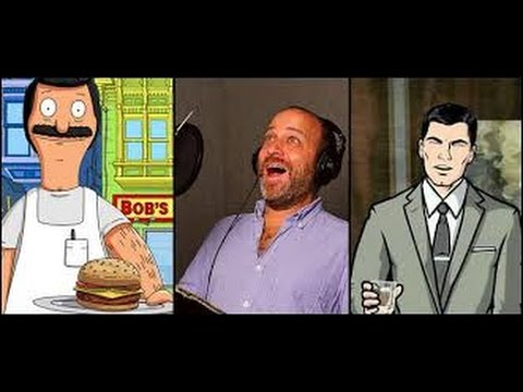 Talking Bob's Burgers and Archer with H....