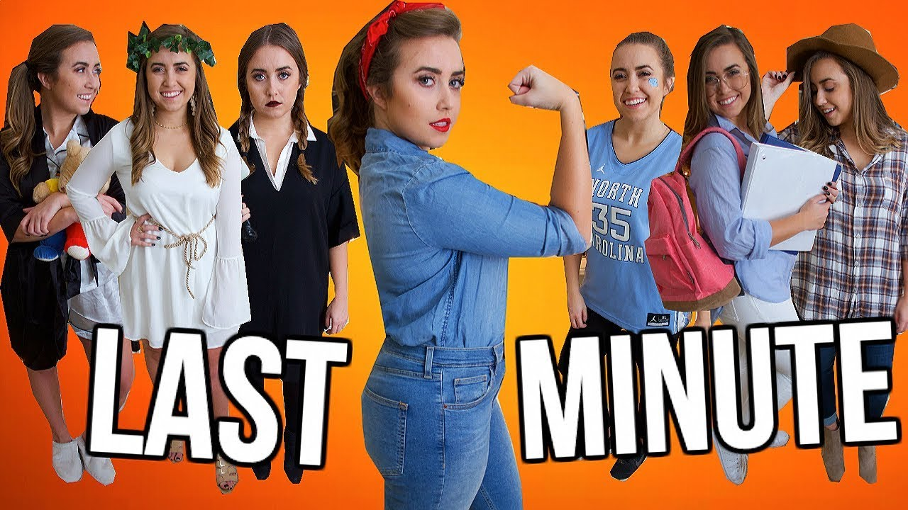 4737783c504 12 Last-Minute Halloween Costumes Using Items You ALREADY Own! | Halloween  2018