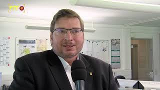 FDP-BUndestagskandidat Stephan Link zu Besuch in der RTF.1-Redaktion