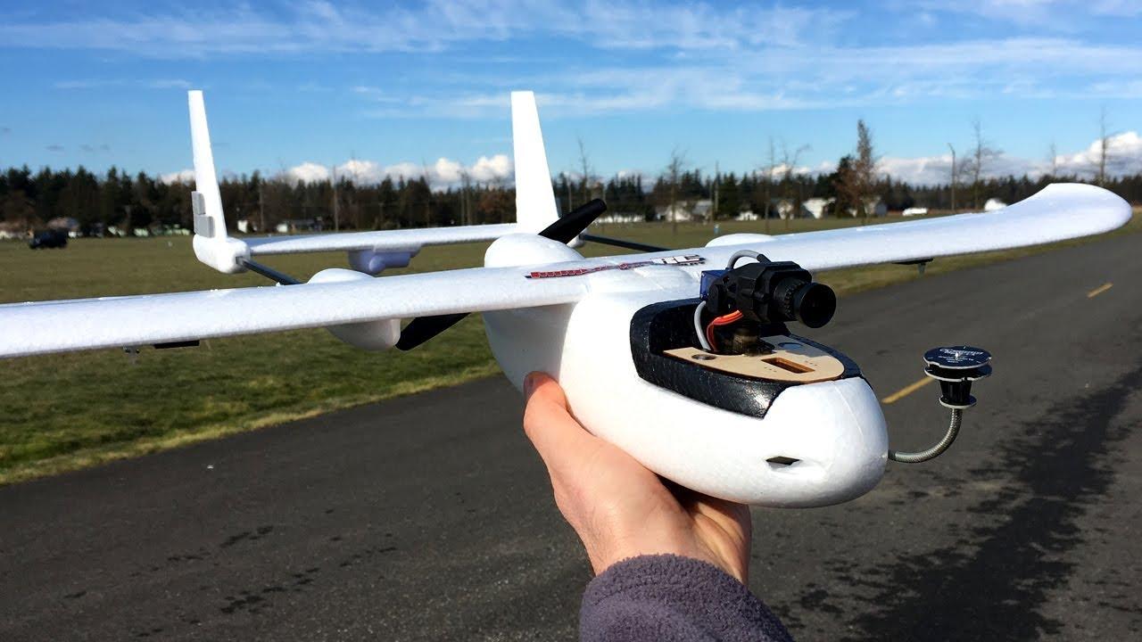 Bill's Eachine Micro Skyhunter FPV 780mm RC Plane Line Of Sight Maiden  Flight