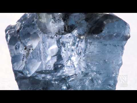 Rare Blue Diamond Discovered in South Africa