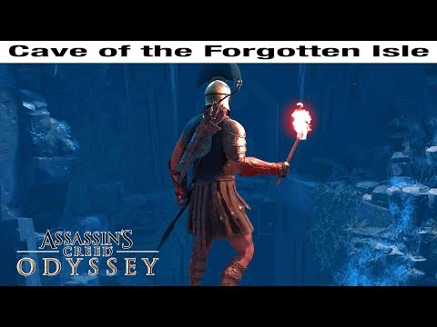 CAVE OF THE FORGOTTEN ISLE Walkthrough - Assassin's Creed Odyssey Forgotten Isle Chest Locations